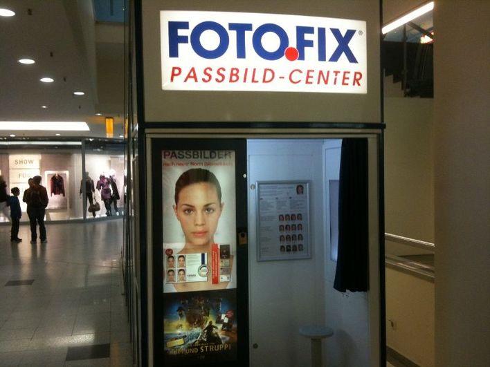 FOTOFIX Fotoautomat in den Gropius Passagen