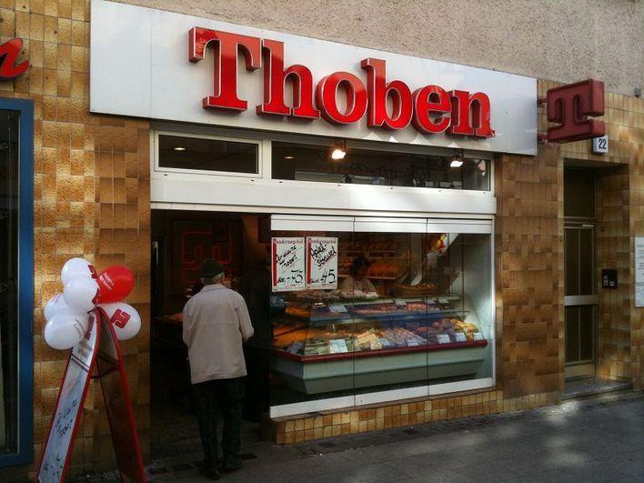 Thobens Backwaren in der Moritzstraße