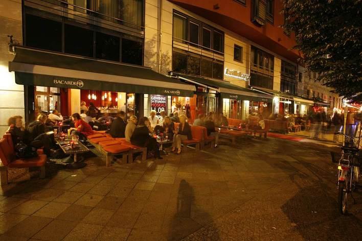 Bellini Lounge - Außenansicht