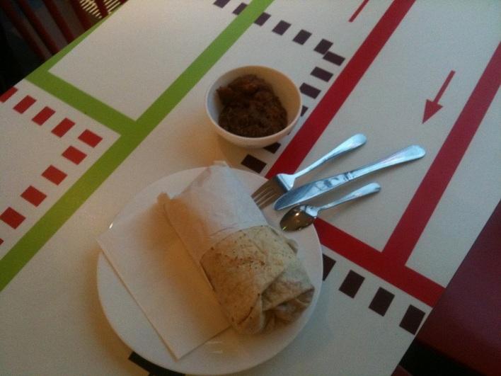 Die besten Burritos in Berlin gibt's bei Dolores am Wittenbergplatz