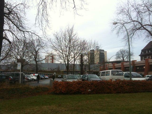 Parkplatz am Stabholzgarten
