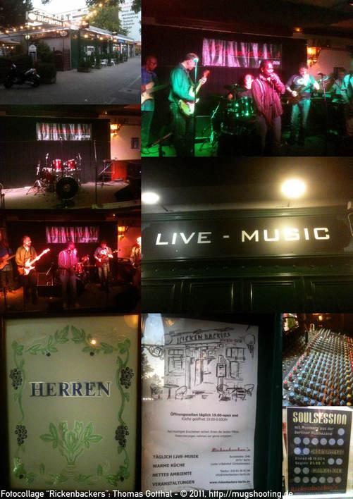 Fotocollage zu Rickenbackers Music Inn