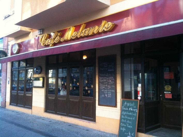 Café Melanie in Friedenau