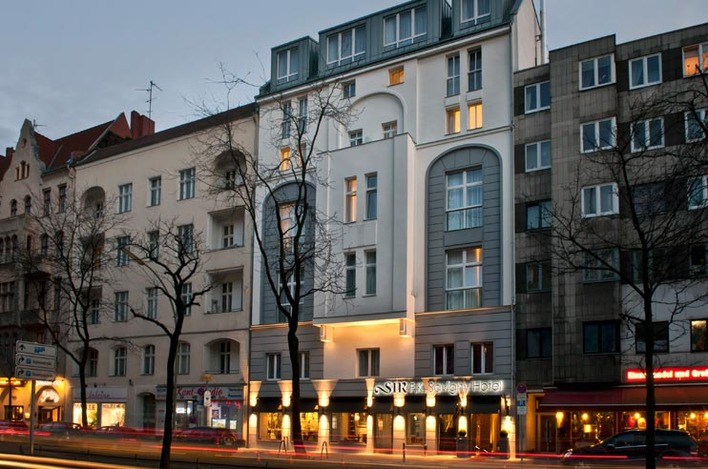 Exterior of the Sir Savigny Hotel Berlin