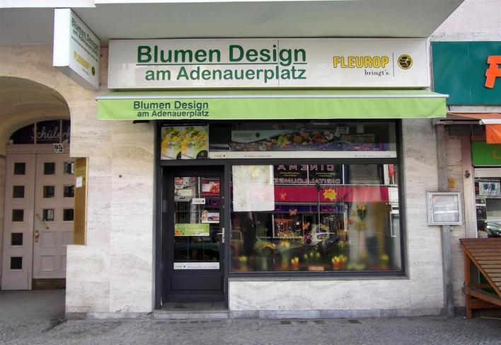 Blumen Design am Andenauerplatz