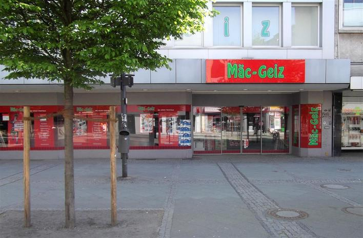 Mäc-Geiz - Wilmersdorfer Straße