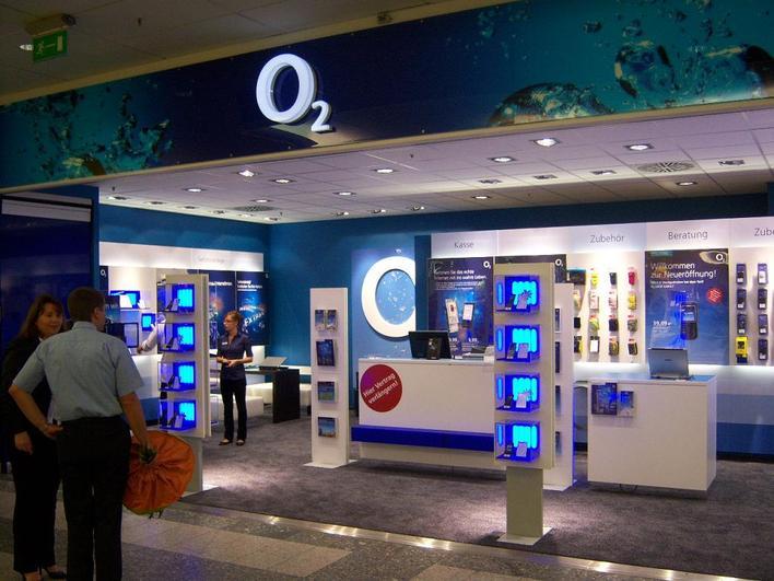 O2 Shop - KaufPark Eiche
