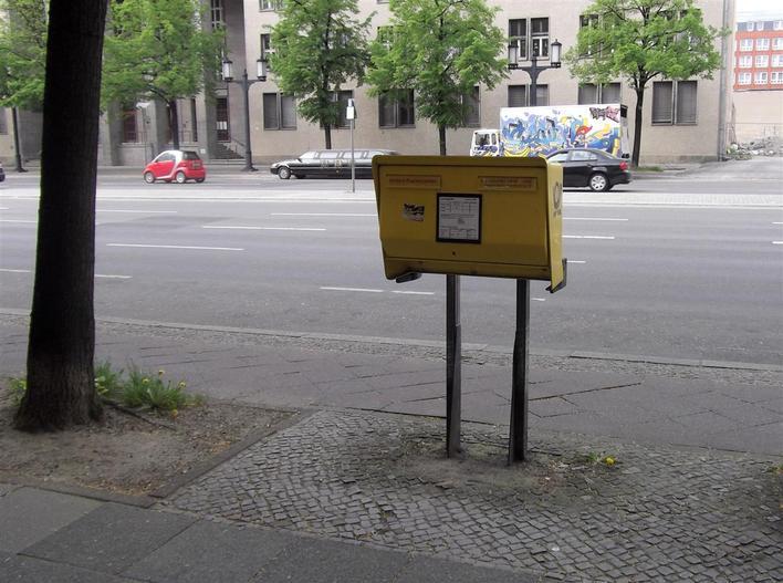 Briefkasten Bismarckstraße