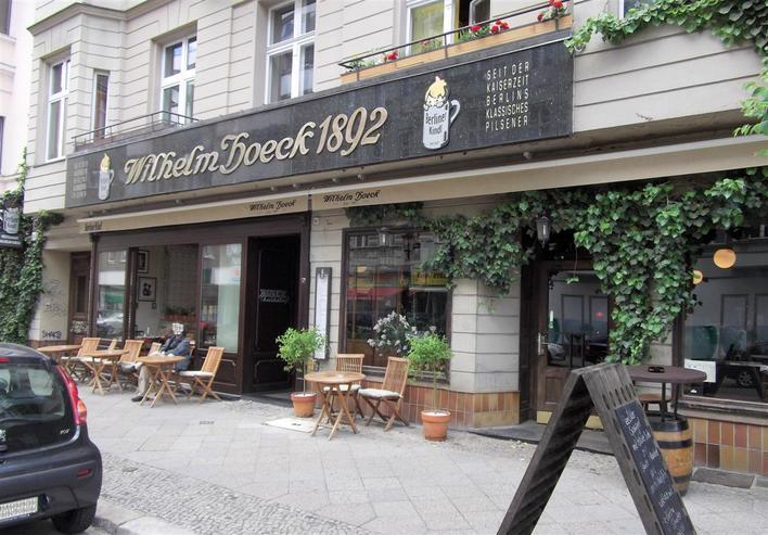 Restaurant WILHELM HOECK 1892