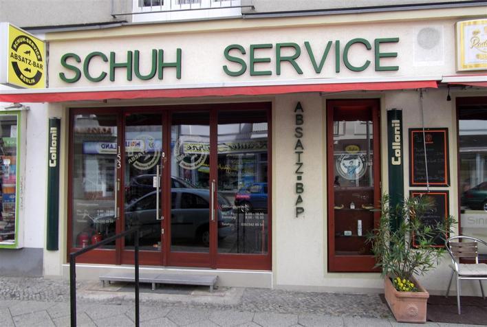 Schuh Service Absatzbar