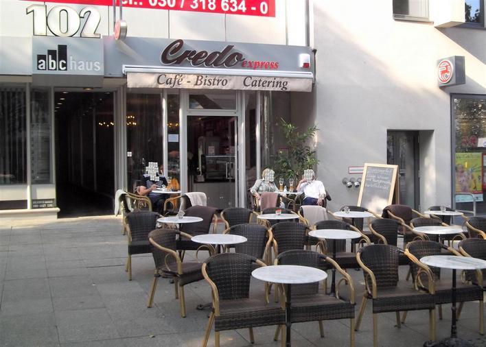 Credo express, Café-Bistro-Catering