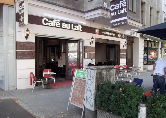 caf au lait caf et bar cafe in berlin charlottenburg kauperts. Black Bedroom Furniture Sets. Home Design Ideas