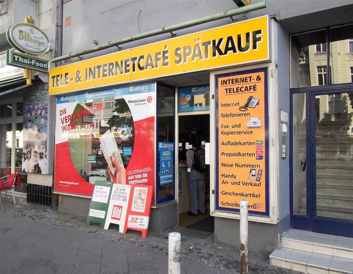 Tele- & Internetcafé -Spätkauf