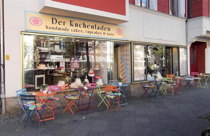 Der Kuchenladen Cafe In Berlin Charlottenburg Kauperts