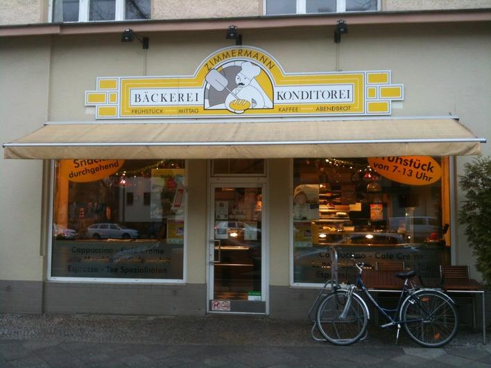 Bäckerei Zimmermann in der Reichsstraße