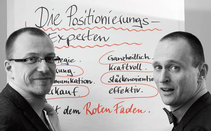 Hermann Häfele (rechts) und sein Geschäftspartner Bernhard Beer