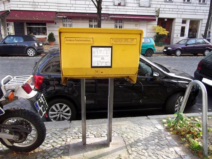 Briefkasten Bleibtreustraße 1