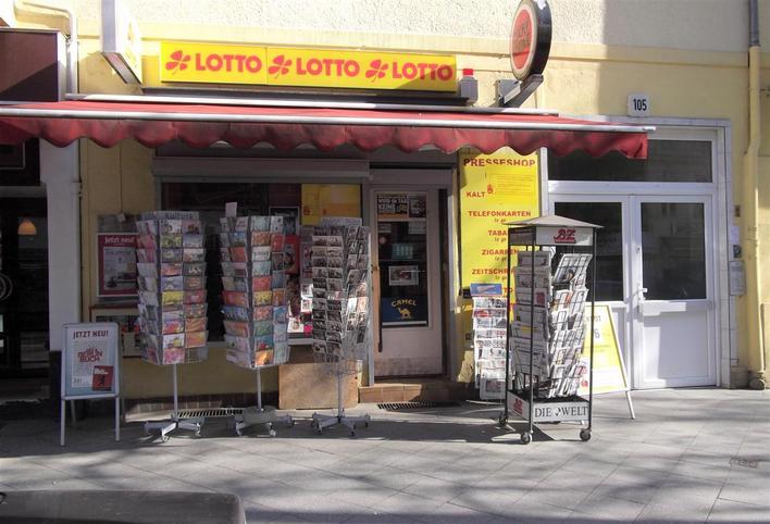 Presseshop & Lottoannahme