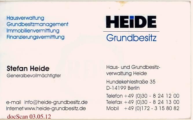 Haus- und Grundbesitzverwaltung Heide