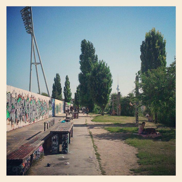 Ein schöner Tag im Mauerpark!