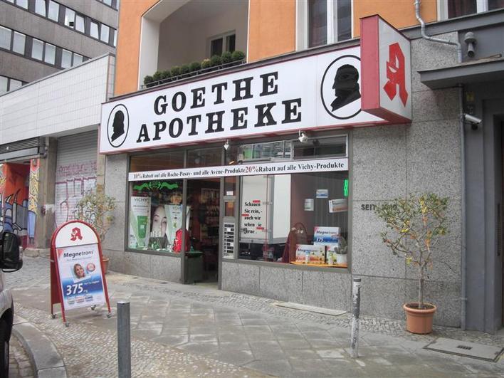 Goethe Apotheke