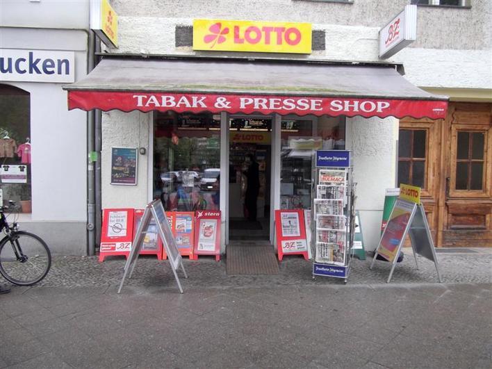 Tabak & Presse Shop