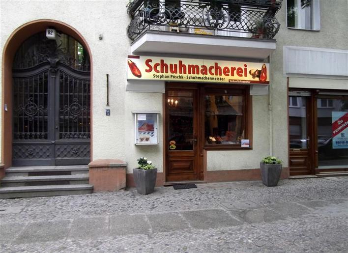 Schuhmachermeister Stephan Pöschk