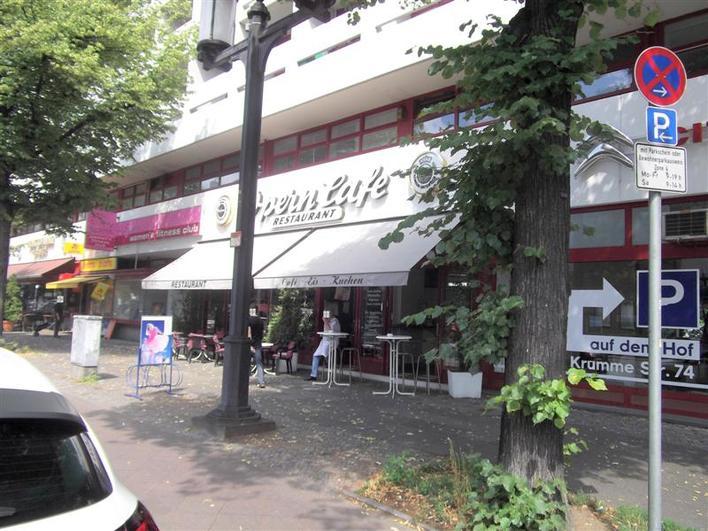 restaurant operncaf cafe in berlin charlottenburg. Black Bedroom Furniture Sets. Home Design Ideas