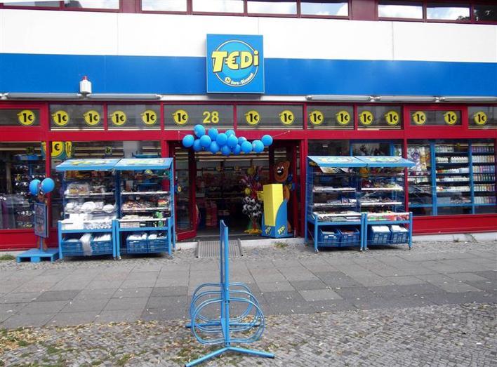 TEDi in der Bismarckstraße