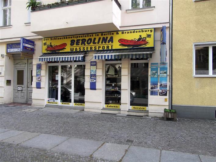 Berolina Wassersport - Schlauchbootfabrikation von Stryk & Sandner