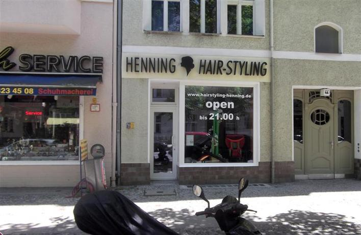 Henning Hair-Styling