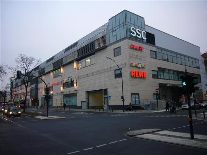 Parkhaus Schloss-Straßen-Center