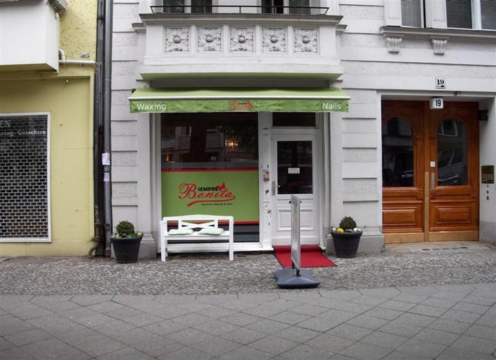 sempre bonita waxing studio kosmetik in berlin charlottenburg kauperts. Black Bedroom Furniture Sets. Home Design Ideas