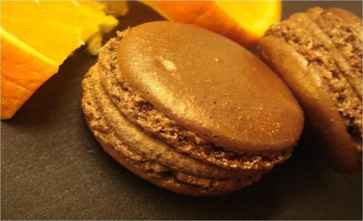 LiloBop Macaron Chocolat Orange