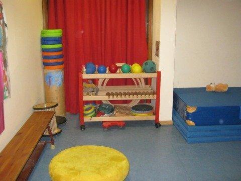 Klax Kindergarten Zauberstein Bewegungsraum