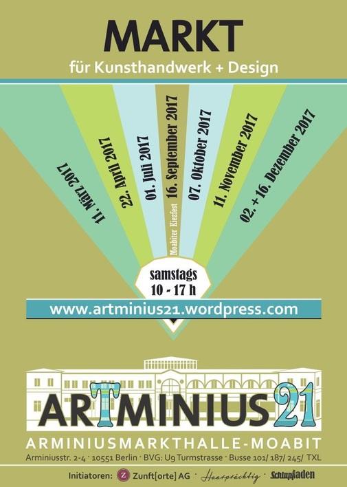ArTminius21 – Markt für Kunsthandwerk & Design