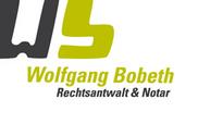 Rechtsanwalt und Notar Wolfgang Bobeth