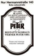 Bestattungshaus Werner Peter OHG