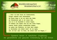 Waldkindergarten Waldwichtel e.V.