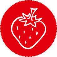 la fraise rouge -