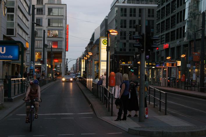 Plz Friedrichstraße Berlin