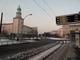 Frankfurter Tor im Winter, Blickrichtung Petersburger Straße